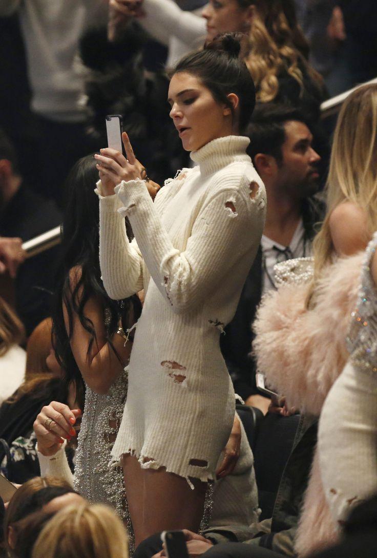 February 11, 2016 - Yeezy Season 3 at Madison... Kendall Nicole Jenner Fashion Style