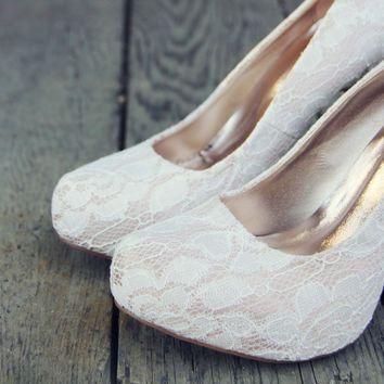 Sweet Lace Heels