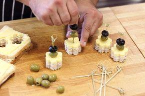 Mini kanapki na imprezę – krok 5