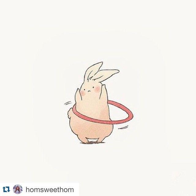 If everyone had a hula hoop... #Repost @homsweethom ・・・ Current mood ✨ by @mindmel0dy