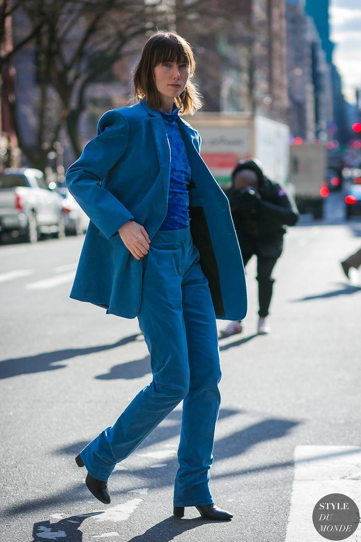 New York Fashion Week Fall 2017 Street Style: Anya Ziourova