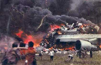 The Tenerife airport disaster occurred on March 27, 1977, when two Boeing 747 passenger aircraft collided on the runway of Los Rodeos Airport (now known as Tenerife North Airport) on the Spanish island of Tenerife, one of the Canary Islands. With a total of 583 fatalities, the crash is the deadliest accident in aviation history.