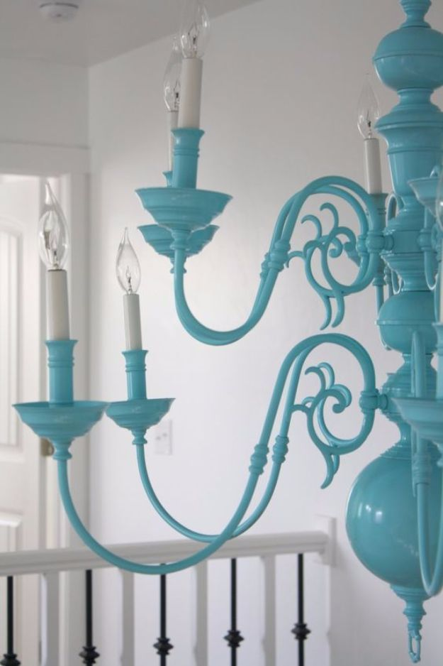 Diy Chandelier Makeovers 30 Refinish Easy Ideas For Old Brass Crystal And Ugly Gold Makeover Cool Before After Projects