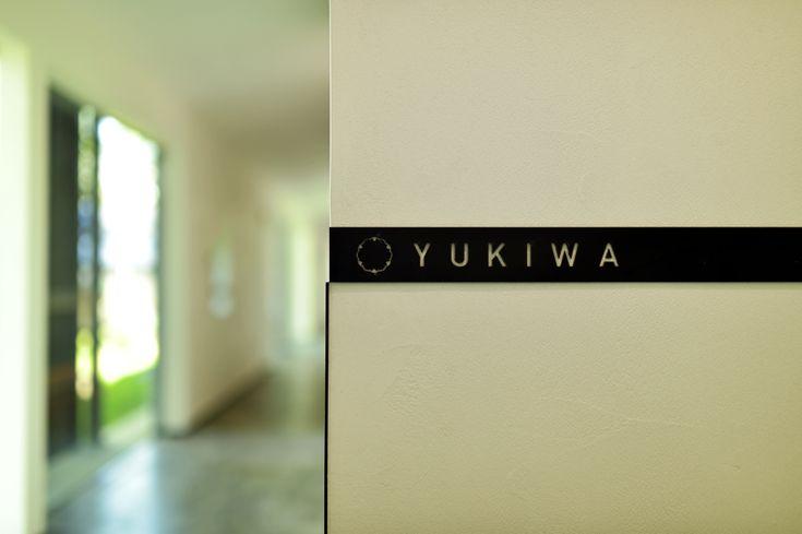Villa Signage (Snowflake Kamon)    Zaborin 坐忘林   Architect: nA Nakayama Architects   Photographer: Ken Goshima