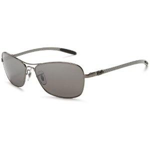 Ray-Ban RB8302P Tech Square Aviator Polarized Sunglasses,Shiny Gunmetal Frame/Grey Lens,58 mm (Apparel)  http://www.womendresscode.com/prod.php?p=B003I423JQ