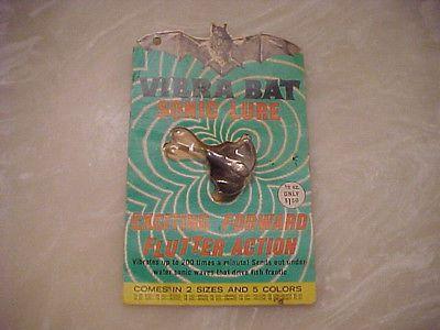 1950s harrison industries old fishing quot vibra bat sonic