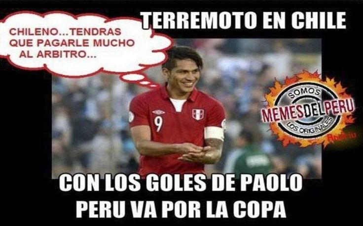 Memes del Perú vs. Chile por Copa América