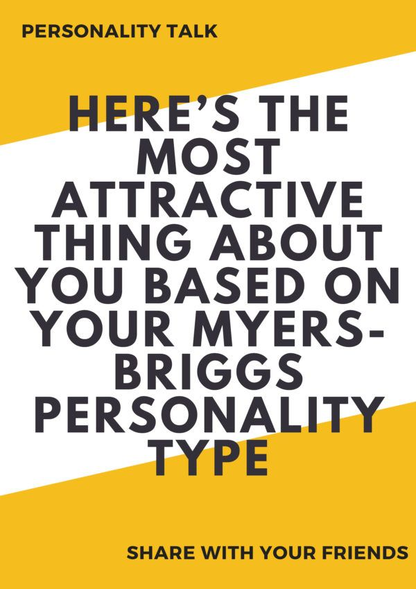 Attractive personality test
