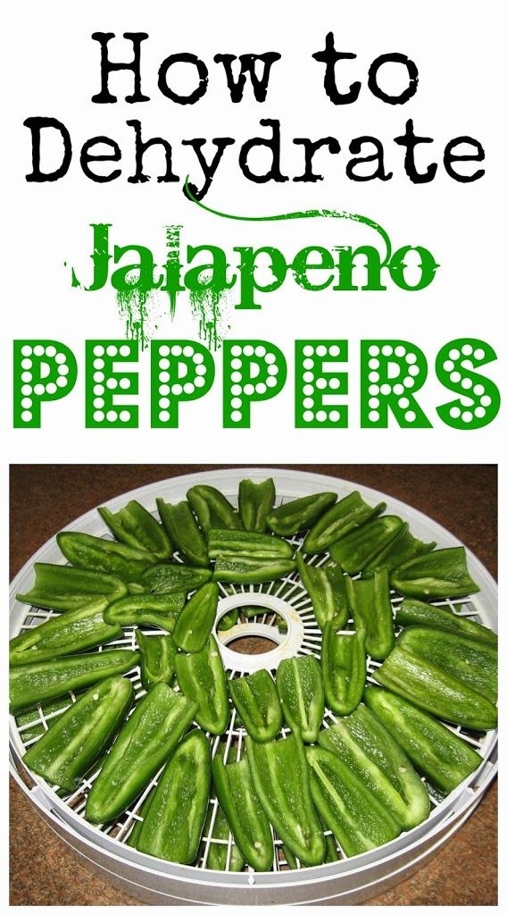 Did you know that dehydrating food keeps the nutrients intact? Plus, it's easier and takes up less space than canning! Learn how to dehydrate jalapeño peppers.