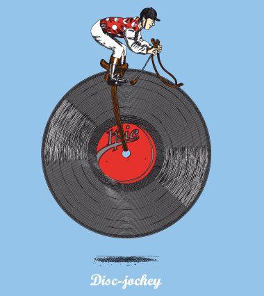 Disc jokey