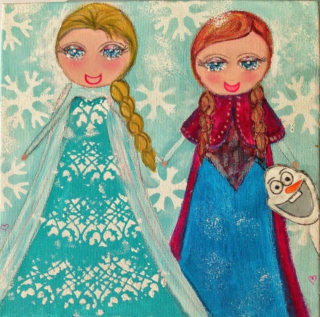 Frozen, Elsa e Anna