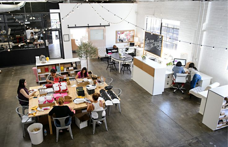 Sugar Paper studio via The Every Girl