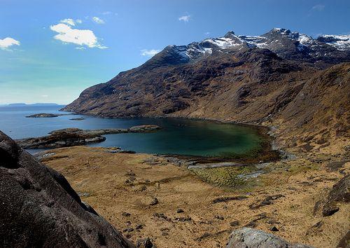 West Cuillin from Loch Coruisk, Isle of Skye, Inner Hebrides, Scotland