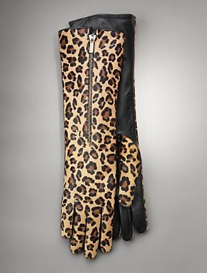 Leopard Gloves.  I saw these in person this week and they are absolutely fabulous!