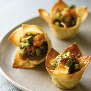 ... wants wontons on Pinterest | Wontons, Wonton wrappers and Wonton cups