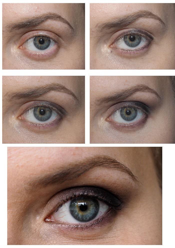 Eye make up for protruding eyes