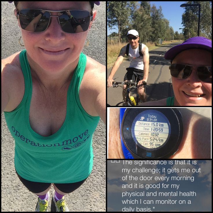 Last long run before next Sunday.. Hubby rode with me to pace me.. Finally feeling good about the half marathon!! Bring it on!! #SKINSRecruit #Blackmores #SydneyRunningFestival