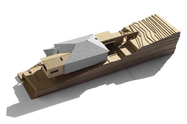 Kieron Gait Architects, Herston Residence, Model