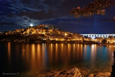 Kavala by Night greece