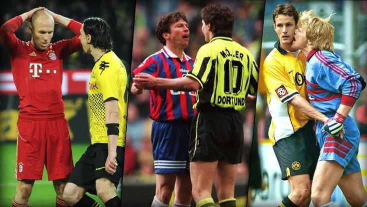 Das sind die legendärsten Aufreger zwischen Borussia Dortmund und dem FC Bayern München.