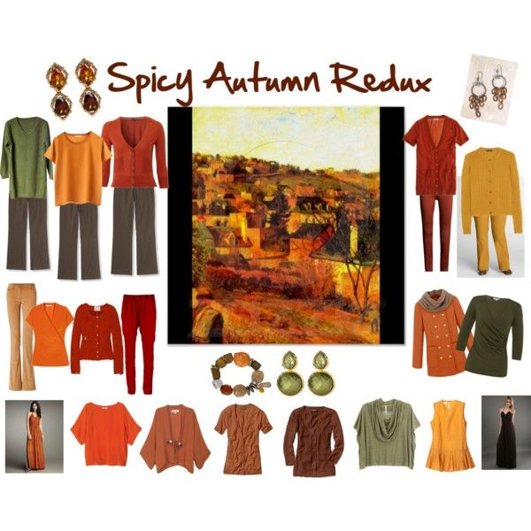 Spicy Autumn Redux by jeaninebyers on Polyvore