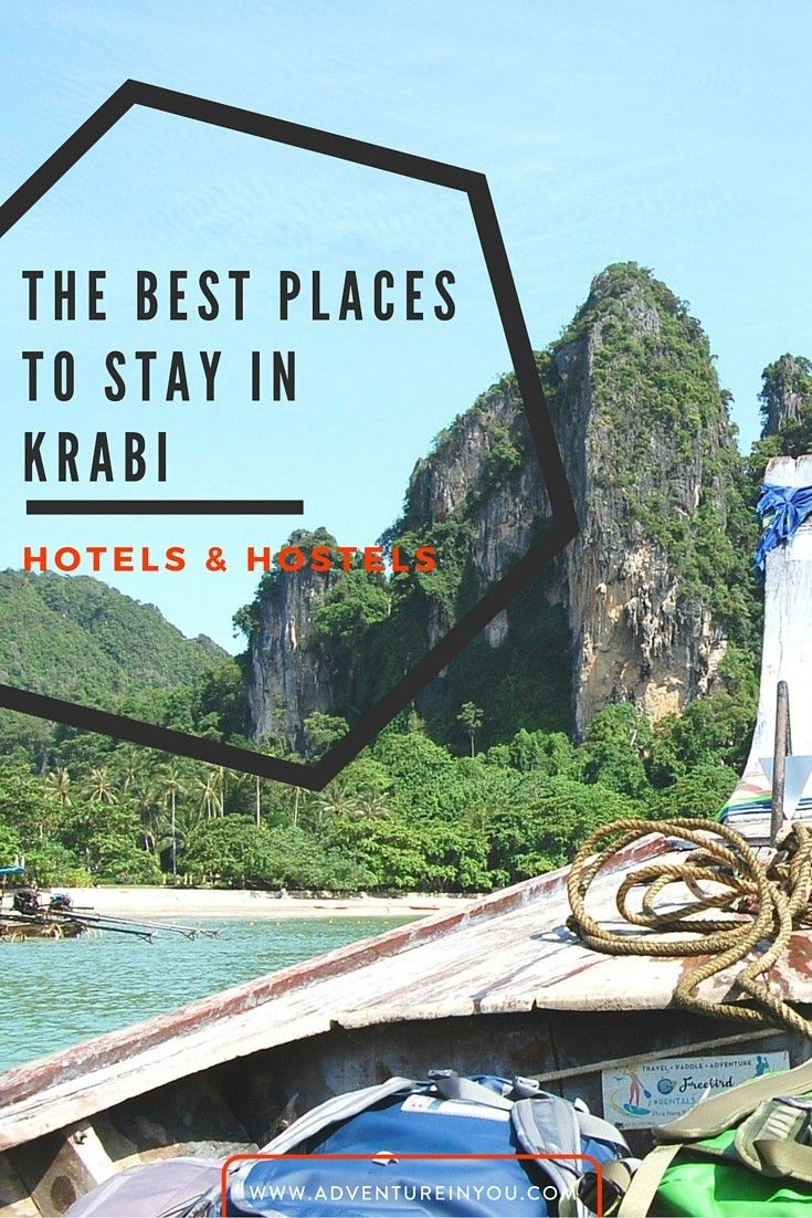 Given the wide variety of choices, we've narrowed down a list of the best places to stay in Krabi that would suite every budget