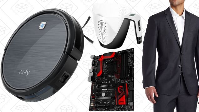 Todays Best Deals: $30 Off Professional Cleaning Mens Suiting PC Parts Gold Box and More