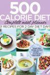 500 calorie meal plans for 5:2 diet Woman Magazine