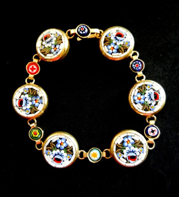 Antique jewelry  1950s italian vintage   Stunning by RAKcreations