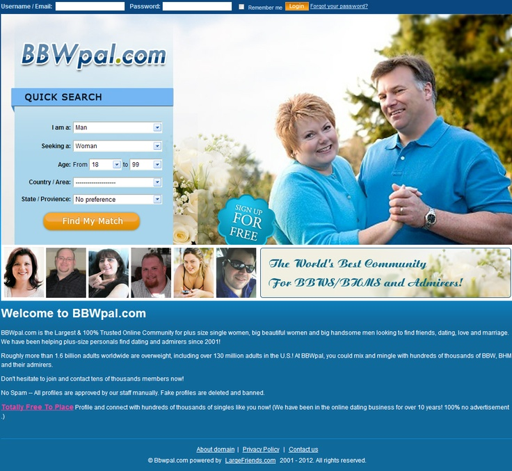 plus size online dating website Plus-size sites help you find people who are actually interested in dating you and who share all your interests here are a few reasons why plus-size web dating may work for you.