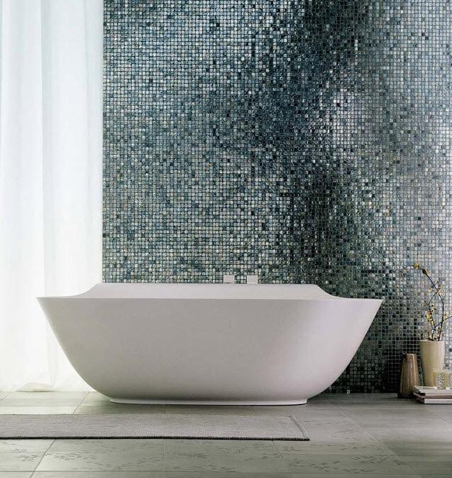 glass mosaic tile METALLI : COBALTO CASAMOOD