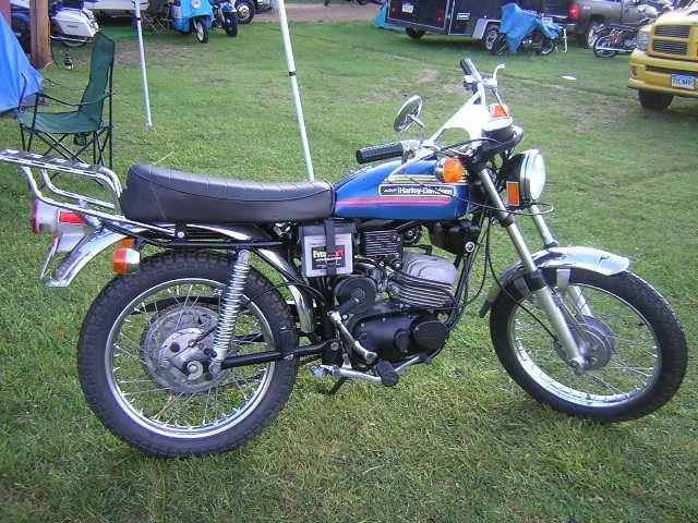 harley davidson 125 sx motorcycle   Below, this 1966 Harley Davidson Bobcat is the last American made ...