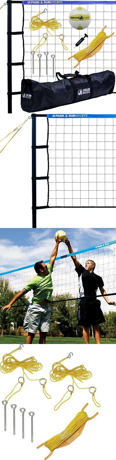 Nets 159131: Park And Sun Sports Tournament 179: Portable Outdoor Volleyball Net System Blue -> BUY IT NOW ONLY: $462.43 on eBay!