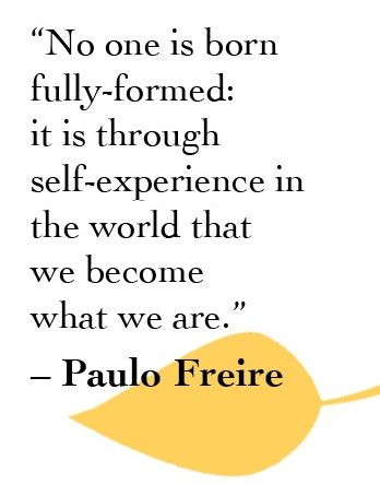 familieopstelling | quote Paulo Freire