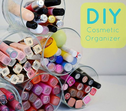 10 DIY Makeup Organizer Ideas to Help With the Clutter | Beauty High