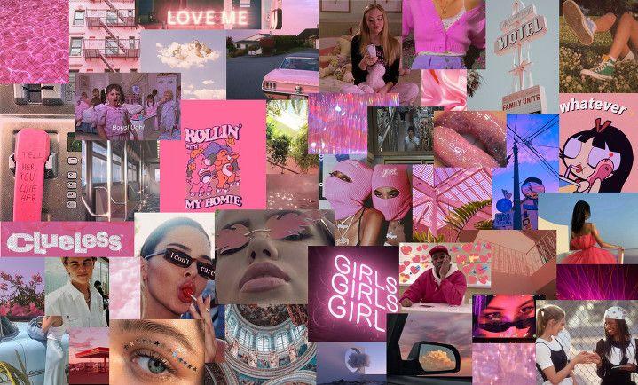 Pink Aesthetic In 2020 Cute Laptop Wallpaper Desktop Wallpaper Art Aesthetic Desktop Wallpaper