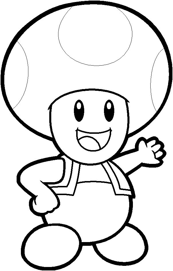nintendo coloring pages print - photo#3