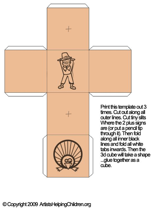 Thanksgiving Activities  Make Thanksgiving Games with 3D Pilgrim - tic tac toe template