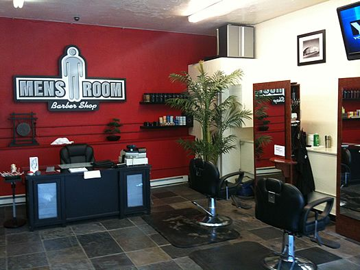 Barbershop Ideas | ... Interior Barber Shop Design Ideas 7 300x225 Barber  Shop Design