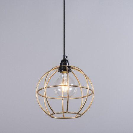 Lampa wisząca Frame Luxe A złota