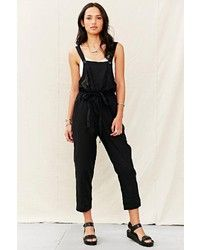 Urban Outfitters Urban Renewal Mixed Business Linen Overall