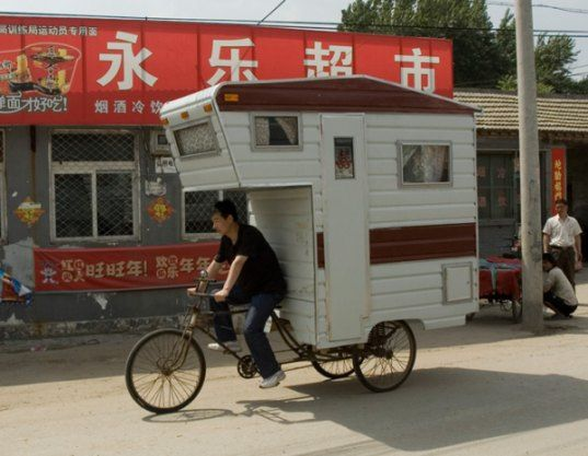 Camper Bike: A Pedal-Powered RV For One