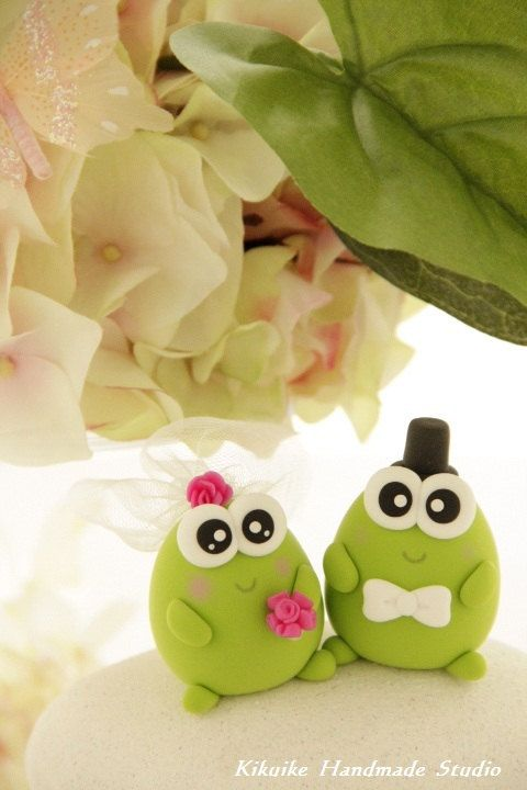 20 Best Images About Frog Cake Wedding On Pinterest