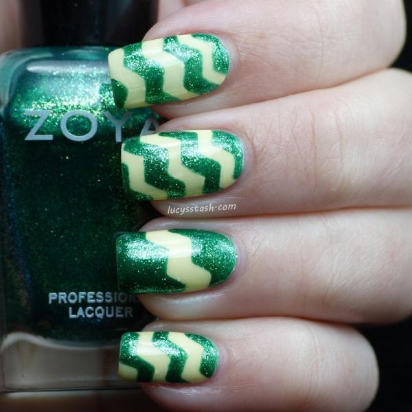 #ZoyaSpringChallenge zig zag mani featuring Zoya Nail Polish in Ivanka via Twitter @LucysStash: Nails Nails, Nails Mani Asked, Nails ︎, Nails Fun, Nails Ideas, Nails Polish, Painting Nails, Nails Lacquer, Nails Pinterest