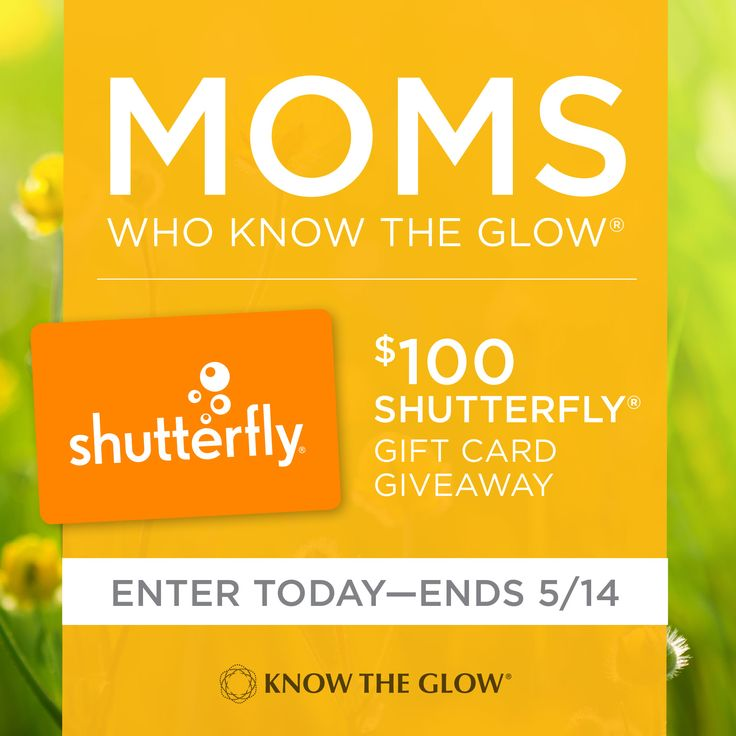 "Moms everywhere should be able to spot ""The Glow"" and advocate for their children's sight. Do you Know The Glow®? Find out and you could win a $100 Shutterfly® gift card. #momswhoknowtheglow #knowtheglow #preventblindness #mothersday"