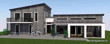 Bilderesultat for funkis hus over et plan