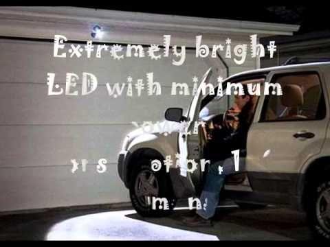 http://youtu.be/BlzhBvfkknE White 3Pack Mr.Beams MB333 Intelligent Wireless LED BatteryOperated Spot...