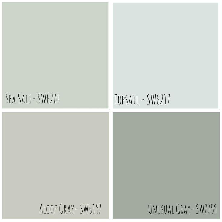 22 best images about paint colors on pinterest sw sea salt paint colors and rock bottom. Black Bedroom Furniture Sets. Home Design Ideas