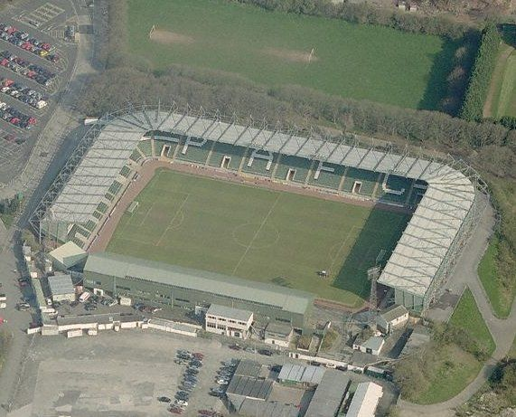Plymouth Argyle football club - Home Park