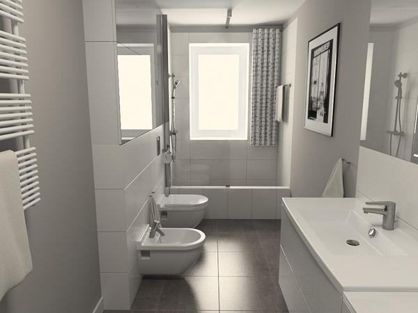 Łazienki - proste i ładne